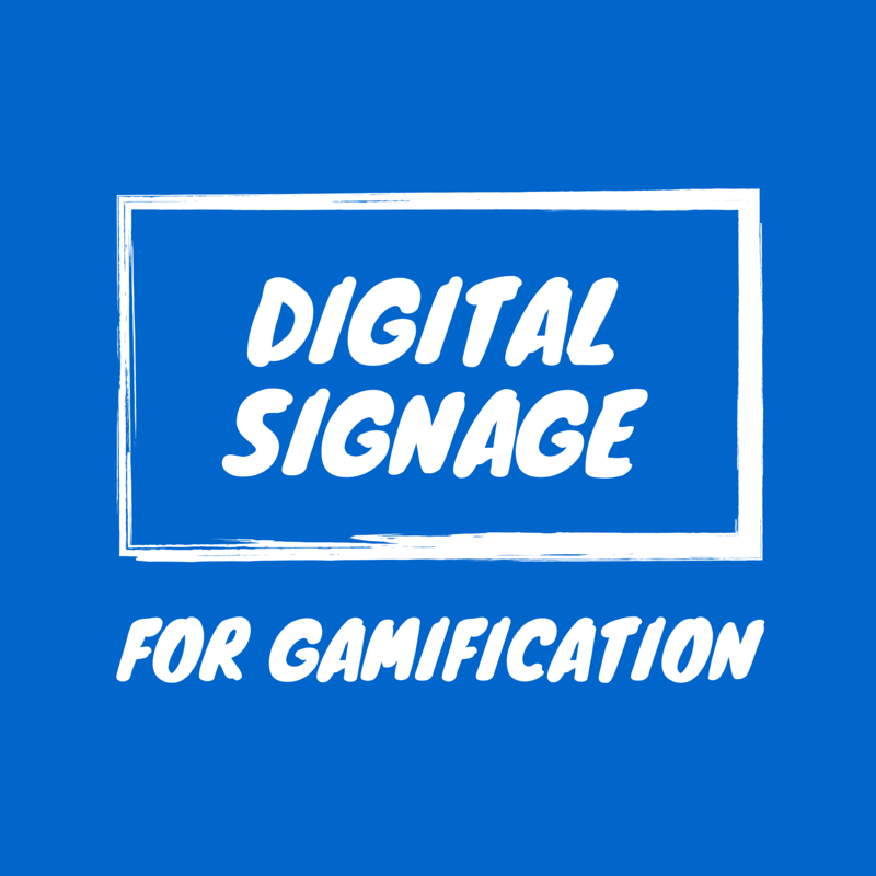 Digital Signage als Touchpoint für Gamification