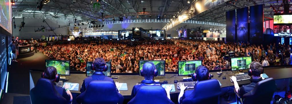 eSport Turnier auf der gamescom (Foto: ESL)
