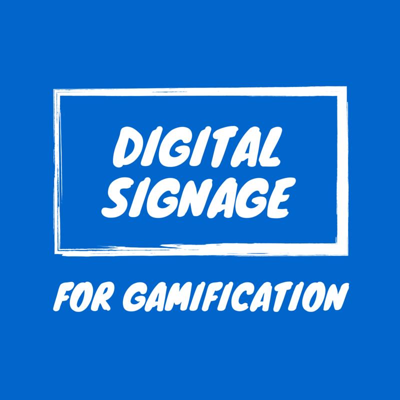 Digital Signage als Touchpoint für Gamification